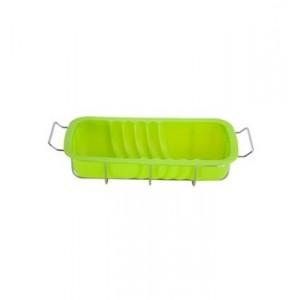 Biskupský chlebíček - silikon, zelená - výprodej