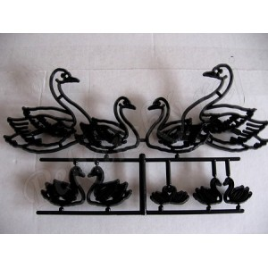 Patchwork vypichovač - Swan set