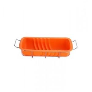 Biskupský chlebíček - silikon, oranžová - výprodej