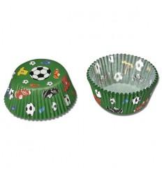 Papírové košíčky - fotbal