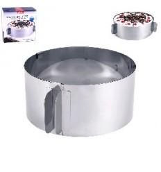 Forma na dort nerez posuvná / kulatá - výprodej