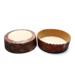 Papírová forma na pečení - kruh, 100 x 30 mm