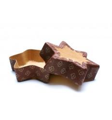 Papírová forma na pečení - hvězda