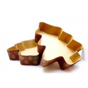 Papírová forma na pečení - stromek